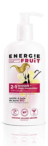 pas cher un bon Energy Fruit 2in1 Mask + Conditioner Coloration sans silicium Cheveux Vanille / Huile…