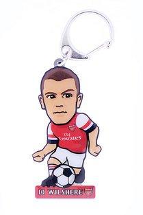 Arsenal F.C. - Llavero (metal), con diseño de Jack Wilshere