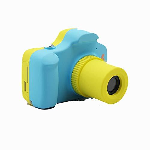 """Belleashy Videocámara para niños Mini cámara de 1,5""""Pantalla Niños Juguete Cámara Digital Niños Chicas Cumpleaños para fotografiar (Color : Blue)"""