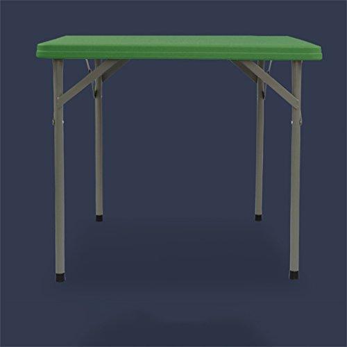 mesa plegable Peaceip Mesa Cuadrada Simple Mesa Mahjong Mesa de Comedor Cuadrada al Aire Libre Mesa portatil Mesa de Comedor pequena Mesa de Desayuno Plegable Cocina Plegable y Mesa de Comedor