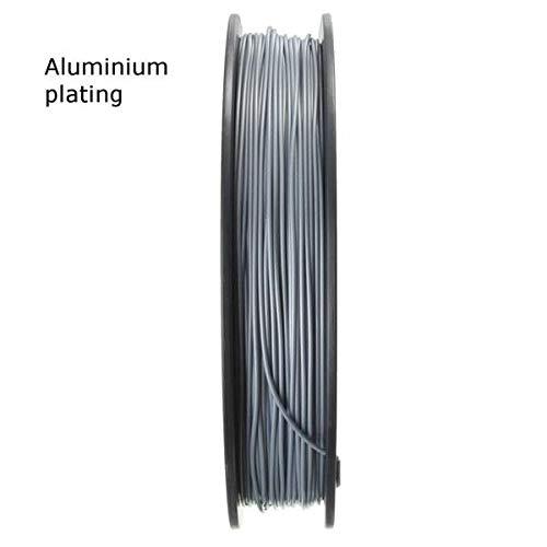 ExcLent 1.75Mm Pla 3D Printer Filament For Mendel Printrbot Reprap Prusa Sumpod - Aluminium