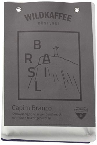 Wildkaffee Rösterei Brasil Capim Branco, 250 g, Ganze Bohne