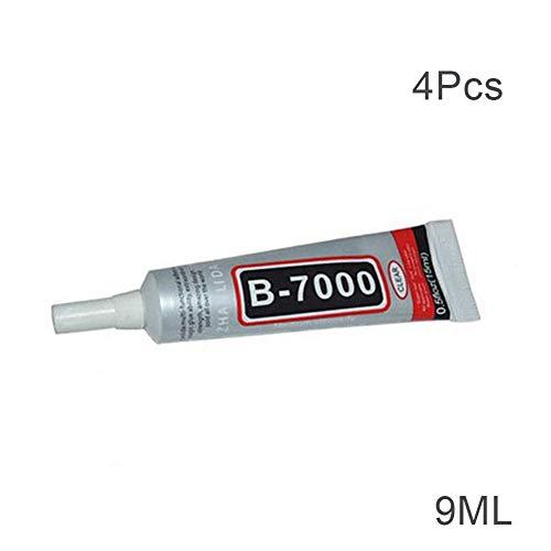 YangGradelyMarket B-7000 Kleber für Handyrahmen, 1 / 4 / 10 Stück, 9ML 4pcs