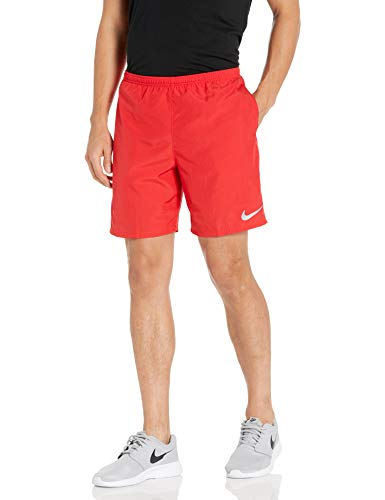 Nike Men's 7' Running Shorts, Sweat Wicking Running Shorts Men Need, University Red/Reflective Silv, XL