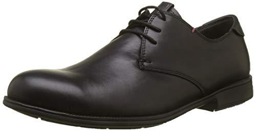 Camper 1913, Zapatos cordones Oxford Hombre, Negro