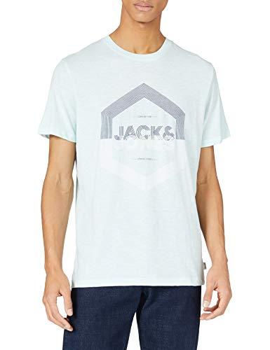 Jack & Jones Jjdelight tee SS Crew Neck Camiseta para Hombre