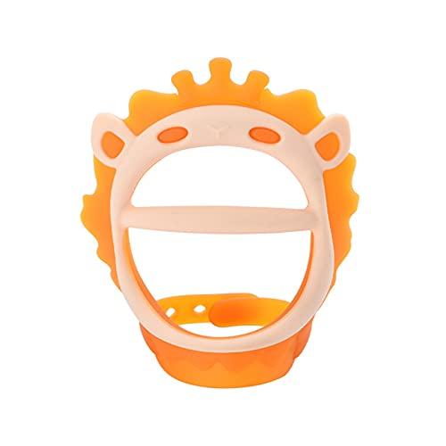 Juguete de silicona para dentición del bebé para las necesidades de succión de la dentición del bebé palo de juguete para bebés de 0-6 meses de bebé mordedor de silicona calmante juguete