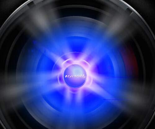 F7 H6 H7 H7 H2 H2 S Luces de 4 ruedas Cubierta de la rueda de automóvil LED Cubierta de la luz de la luz Lámpara de iluminación de la cubierta Adecuado para la gran pared Haval (Color : Red lights)