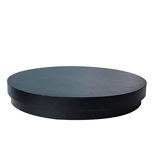 N / A Professioneller Elektrischer 360-Grad-Drehteller Für Die Fotografie, 80 Kg Kapazität, Für Jade-Schaufensterpuppen (35-60 cm)(Color:schwarz,Size:35cm)