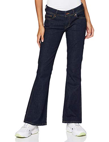 Pepe Jeans Damen New Pimlico Flared Jeans, Blau (000Denim 000), W26/L32 (Herstellergröße: 26)