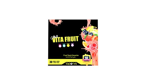 Laperva Vita Fruit Food Supplement Multivitamins and Minerals from Pure Fruit Extract for Body Needs 30 Sticks per Pack