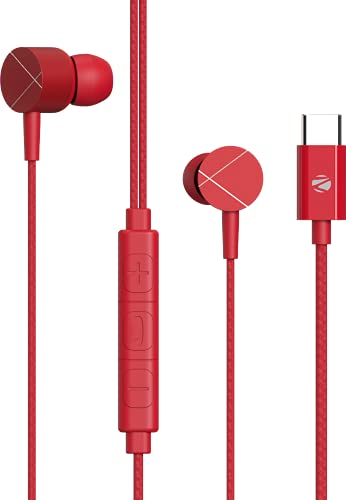 ZEBRONICS Zeb-Buds C2 in Ear Type C Wired Earphones with Mic