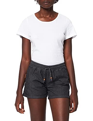 Alife and Kickin Damen JaneAK DNM Shorts, Black Denim, L