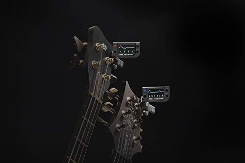 KORG有機EL採用ポリフォニッククリップチューナーギター用AW-OTG-POLY