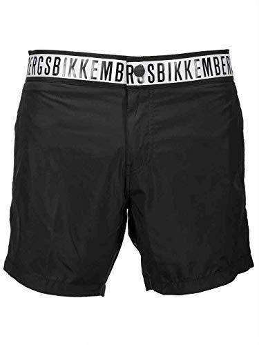 Bikkembergs Boxershorts, mittelgroß, für Herren, Schwarz, Schwarz L