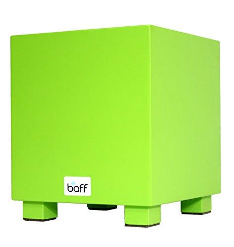 baff Musikmöbel 215 Kindertrommelhocker/cajon mit Sitzhöhe 30 cm grün