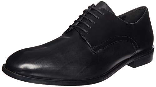 GEOX U SAYMORE C BLACK Men's Derbys, Oxfords and Monk Shoes Derby size 46(EU)