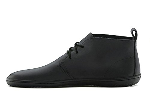 Vivobarefoot Gobi M's, Polacchine Uomo, Nero (Black Leather), 42 (8 UK)