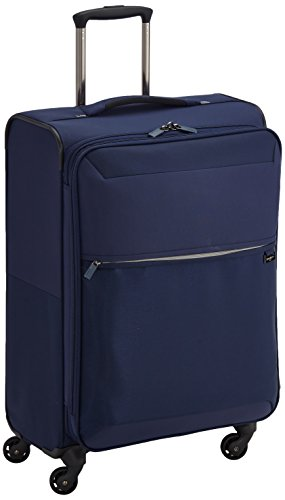 Samsonite Short-Lite Spinner 66/24 Exp Maletas y trolleys, 66 cm, 71 L, Azul (Azul)