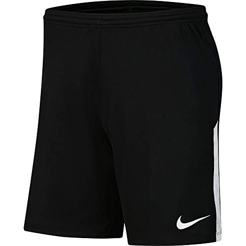 Nike Kinder Dri-Fit League Knit II Shorts, Black/White/White, L