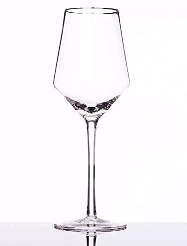 FYHH-JZHY Bicchiere da Vino 400 Ml Bury Glass Crystal Glass Rosso Soffiato A Mano (2) Vale La Pena Avere