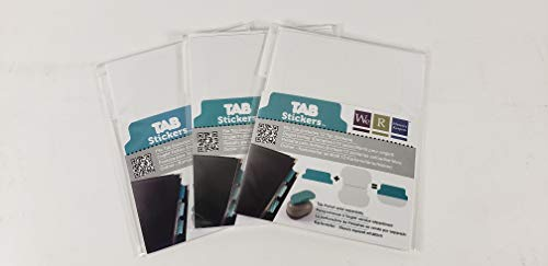 We R Memory Keepers (3-Pack) Tab Stickers 12 Pack File, 2 inch TABS-42377 |