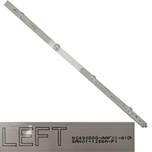 Tira 4 Leds GAN01-1265A-P1 Left, LG 49UJ634V