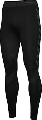 hummel First Seamless Leggings, Hombre, Negro, XS/S