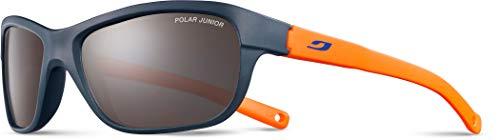 Julbo Player Gafas de Sol para niño, Color Azul Oscuro/Naranja