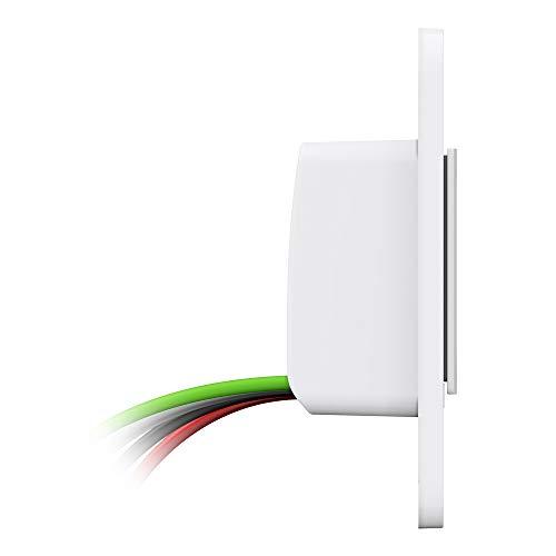 WeMo - WDS060 Wemo WiFi Smart Dimmer Switch (Dim + Control Lights from Anywhere w/App, Voice Control w/Alexa, Google Assistant, Apple HomeKit)