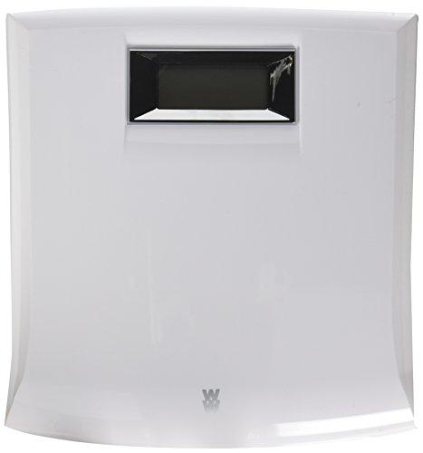 WW Scales by Conair Digital Precision Bathroom Scale, 330 lb. capacity, White