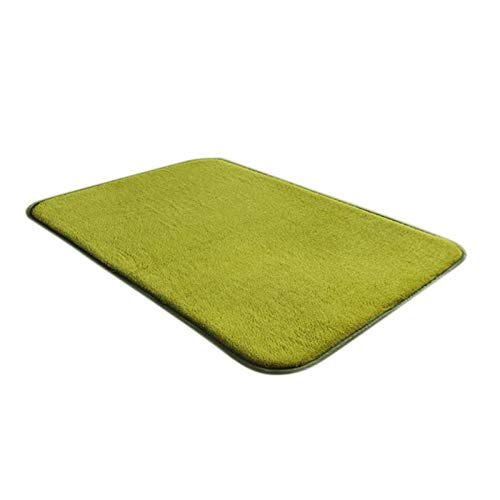 dingtian Felpudo Conveniente Magic Non Slip Door Mat Dirts Trapper Interior Super Absorbente Doormat 60cmx100cm Green