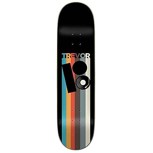 Plan B Trevor - Tavola da skateboard in vinile, 20,6 cm, colore: Nero