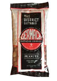 Germack Pistachio Company, Detroit Ballpark In-Shell Peanuts, Fresh Roasted and Salted, 7oz. Bag