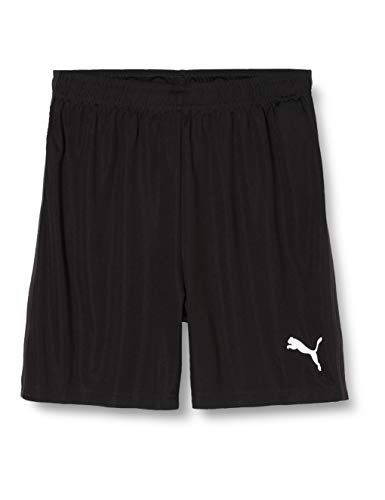 PUMA Kinder Liga Training Shorts Core Jr Hose, schwarz(Puma Black / Puma White), 164