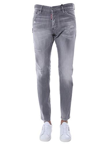 Luxury Fashion | Dsquared2 Heren S74LB0693S30260852 Grijs Katoen Jeans | Lente-zomer 20