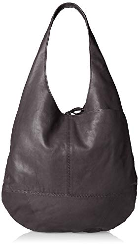 Lucky Brand womens Mia Hobo 1 Shoulder Bag, Evening Grey, Large US