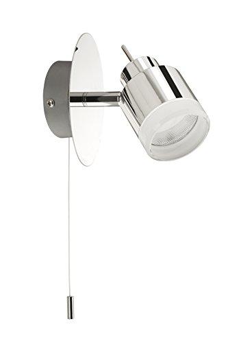 LED Badezimmer Deckenleuchte, Deckenstrahler, 1 x LED 4 W, 330 Lumen,chrom