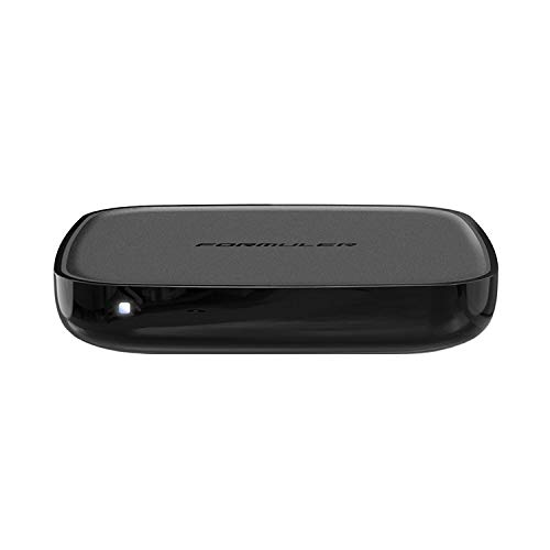 Formuler GTV 4K UHD Android 9.0 TV IP Mediaplayer H.265 HEVC, 16GB Flash, 2GB DDR4, Bluetooth Fernbedienung, 2.4/5GHz Dual WLAN, Gigabit LAN, Google Play, MYTV, Schwarz