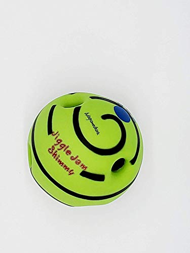 A Dog Named Hank Small Pet Dogs Playing Ball Training Safe Ball Funny Sound Toy Gift