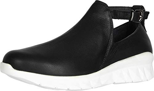 NAOT Footwear Women's Cosmic Shoe Soft Black Leather 8 M US