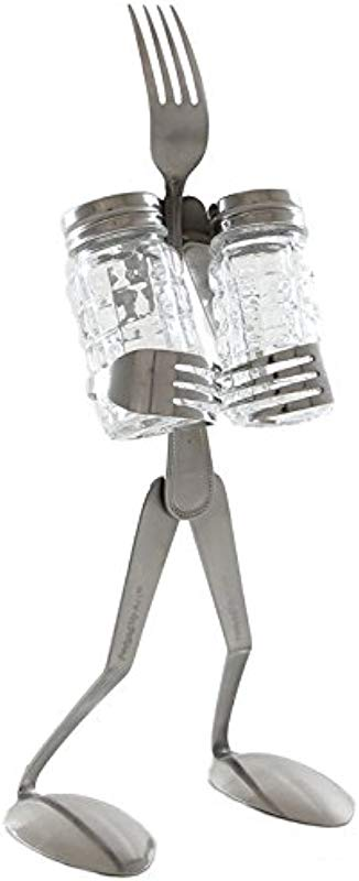 Forked Up Art F01 Fork Salt And Pepper Stand Table Topper