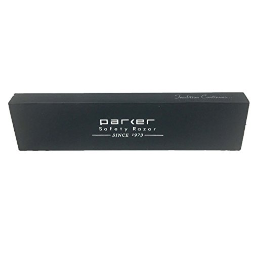 Parker Safety Razor Parker Srx Heavy Duty professionnel 100% Bord Droit en acier inoxydable Coiffeur...