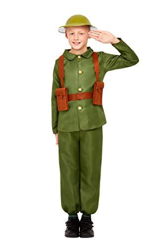 Smiffys 47744L WW1 Soldaat Kostuum, Unisex Kinderen