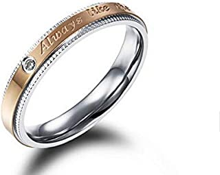 Women's Ring Gold & Silver Size 5