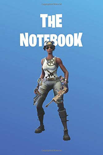 "The Notebook: Fortnite Collection -   Master Sploder Gunner Recon Expert |  Unofficial Fan Notebook, Sketchbook, Diary, Journal, For Kids, For A Gift, ... Pages | 6"" x 9"" (Fortnite Wide Ruled, Band 5)"