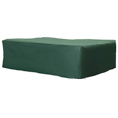 Outsunny Protective Furniture Cover for Garden Wicker Rattan from UV, Rain, Birds 245 x 165 x 55 cm