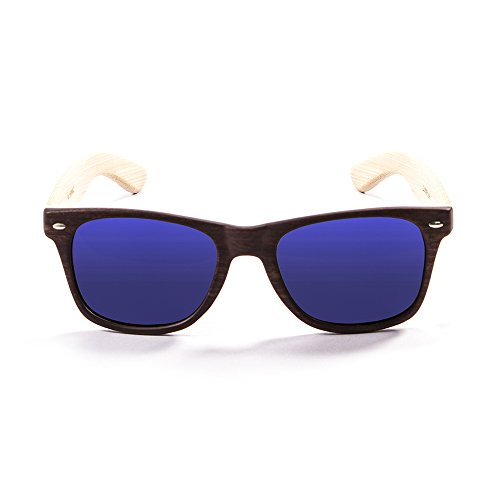 Ocean Sunglasses Beach Wood Gafas de Sol, Unisex Adulto, bambú, 55