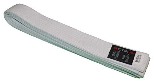 Actika Budo - Cinturón de karate, judo, taekwondo, artes marciales, ju-yutsu (200), color blanco