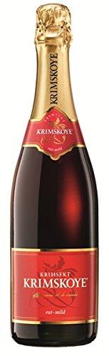 Krimskoye Krimsekt rot mild 12% 6-0,75l Flaschen